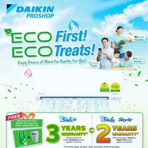 ECO First! ECO Treats!