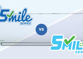 Daikin iSmile vs. Smile Series - What are the differences?