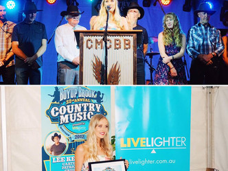 Emily Joy Awarded Title of 'Emerging Artist of the Year' at WA Country Music Awards!
