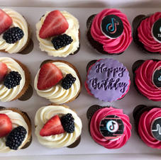 Mix Topped Cupcakes