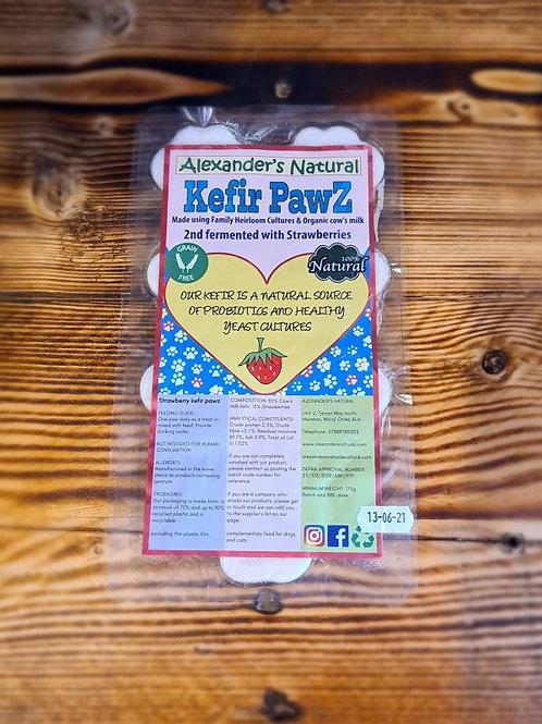 Strawberry Kefir Paws