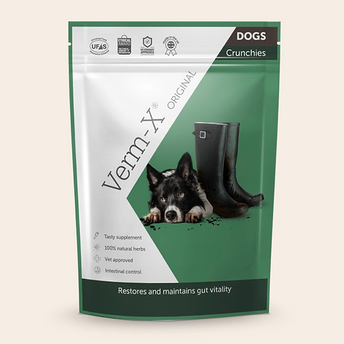 Verm-X Original Crunchies for Dogs 100g