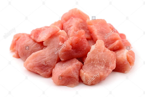 Pork chunks 1kg just natural