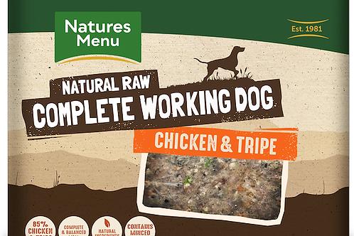 Natures menu chicken and tripe 500g x 2