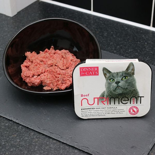 Dinners for cats beef 175g