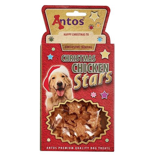 Christmas Chicken Stars 100g