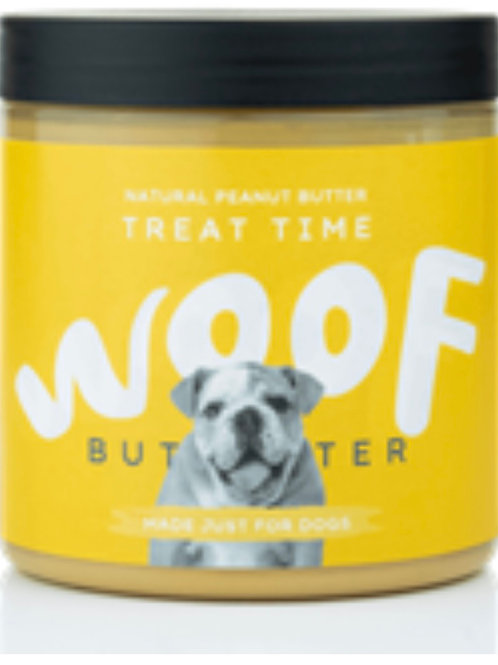 Woof treat time peanut butter 250g