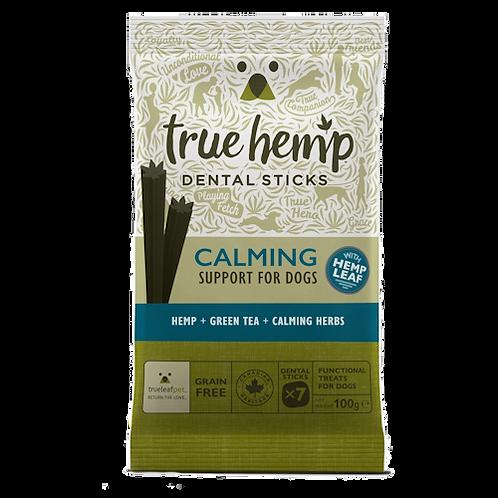 True hemp calming dental sticks x7