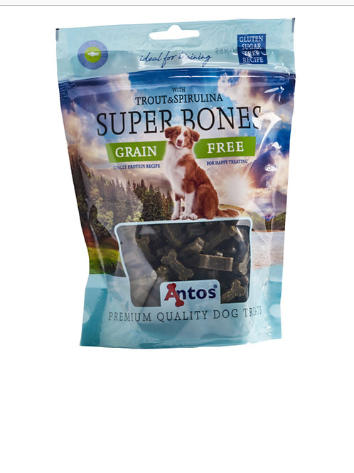 Super Bones Trout and Spirulina (150g)