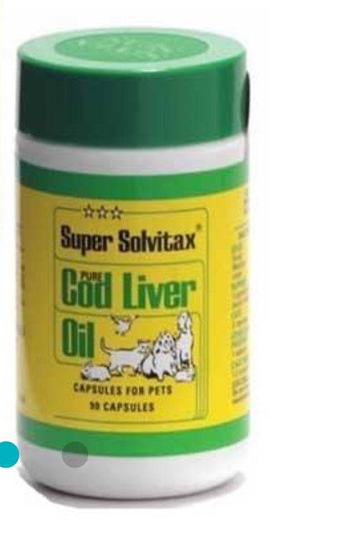 Solvitax cod liver oil capsules  90