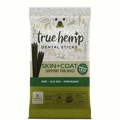 True Hemp Skin & Coat Support Dental Sticks for Dogs