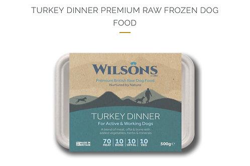 TURKEY DINNER PREMIUM RAW FROZEN DOG FOOD
