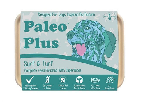 Surf and turf 500g paleo plus
