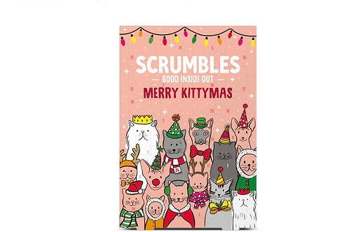 Scrumbles Christmas Cat Advent Calendar 50g