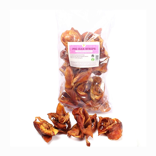 Pig ear strips 500g