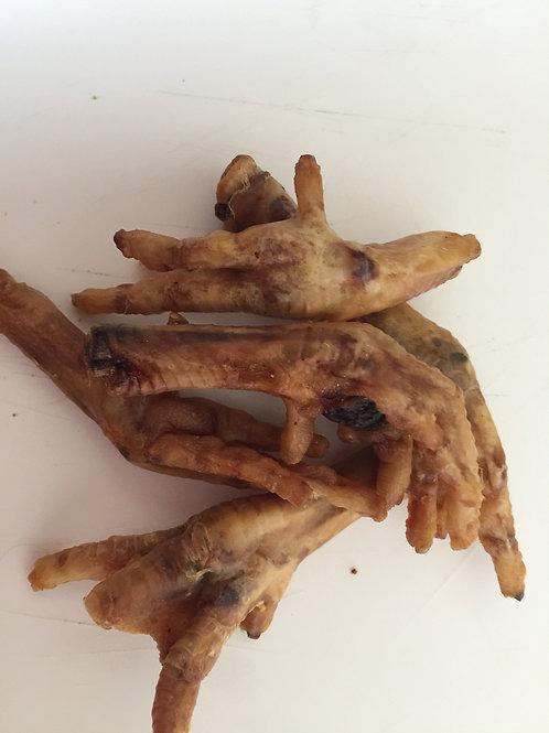 Dried chicken feet x5