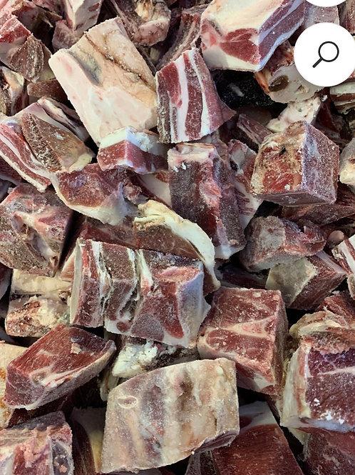 Meaty Lamb on the Bone Chunks, 1kg
