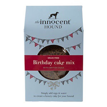 Innocent Hound Grain Free Dog Birthday Cake Mix 255g