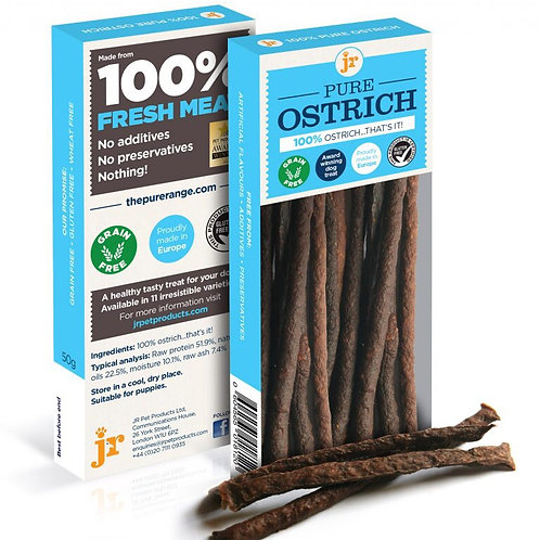Pure Ostrich Sticks 50g