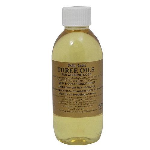 Canine three oils 250ml