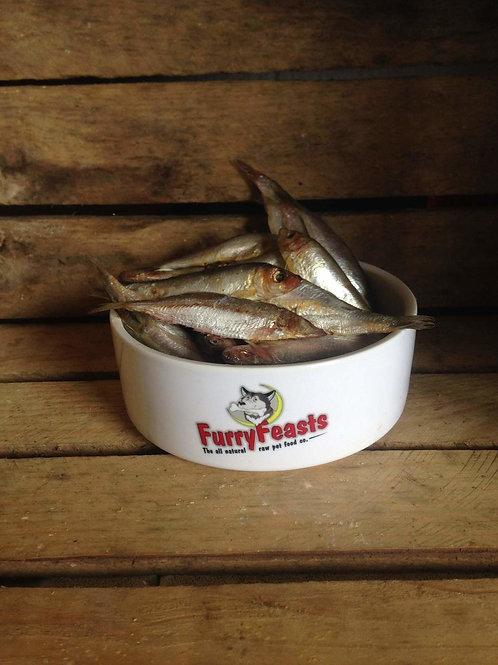 Furry Feasts Sardines 1kg Bag