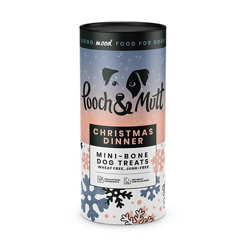 Pooch & Mutt Christmas Dinner Mini-Bone Treats