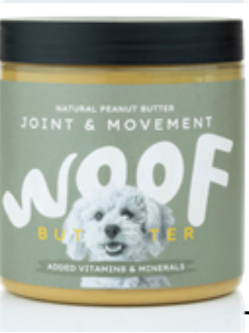 Woof joint and movement  peanut butter 250g