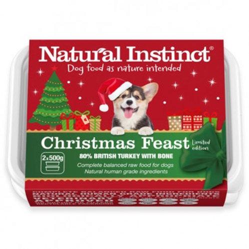 Dog Christmas Feast