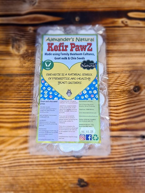 Goat Kefir & Chia Seed Paws
