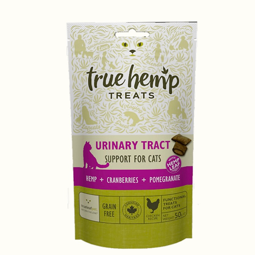 True Hemp Urinary Support Treats for Cats