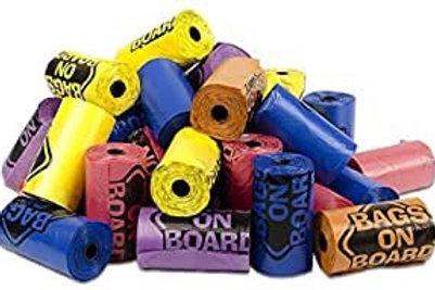 Poo bags roll
