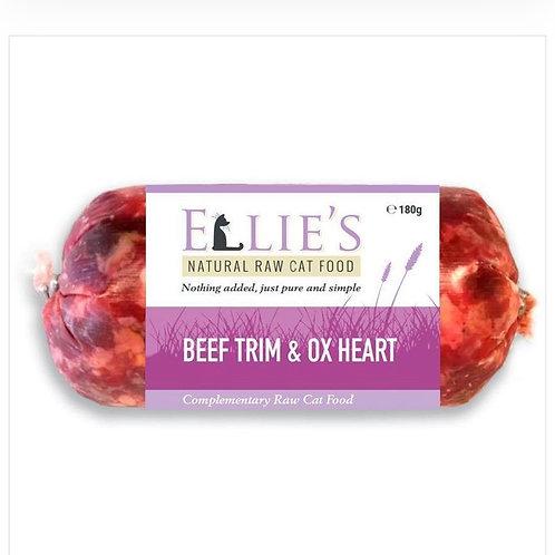 Beef Trim & Ox Heart 180g