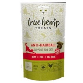 True hemp anti- hairball cat treats