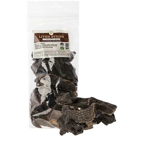 Dried liver strips 200g
