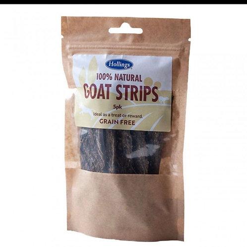 100% Natural Goat Strips 5 Pack