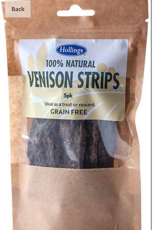 Hollings venison strips x5