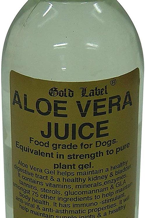 Canine aloe Vera juice