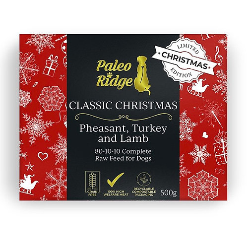 Classic Christmas Pheasant, Turkey and Lamb (500g)