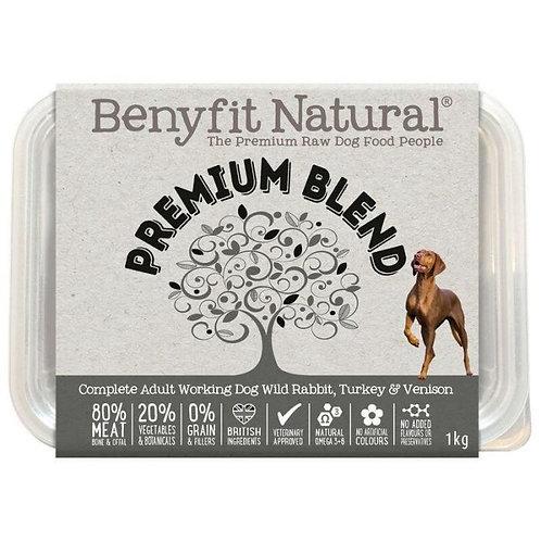 Benyfit Natural - Premium Blend - Raw Dog Food 1K