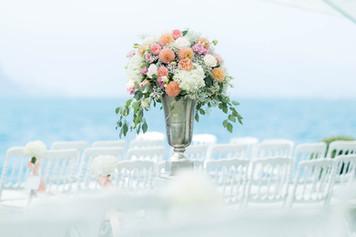 Blumenamphore Trauung Hochzeit