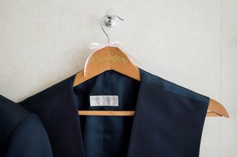 Bräutigam Bügel Anzug