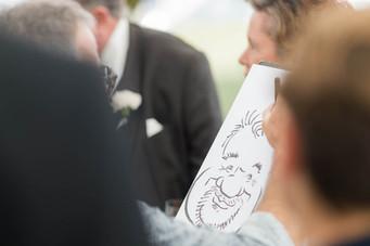 Hochzeit Karikaturist