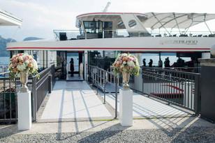 Hochzeit auf dem Schiff