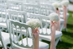 Hochzeit Trauung schöne Stühle