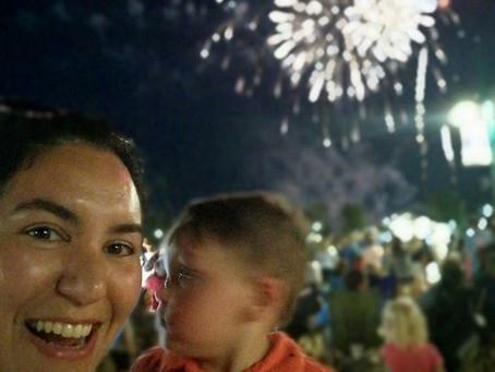 Fireworks at OWA