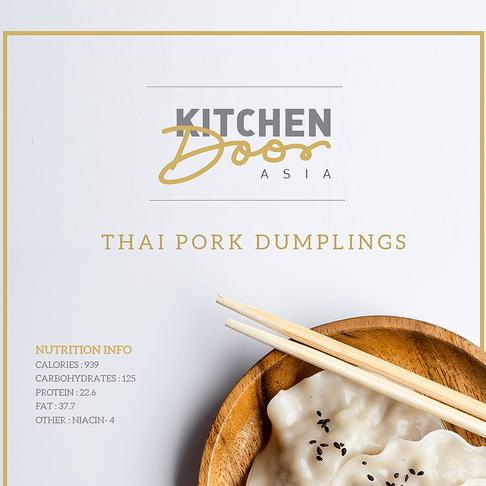 Kitchen Door Asia - Identity Design - WIP