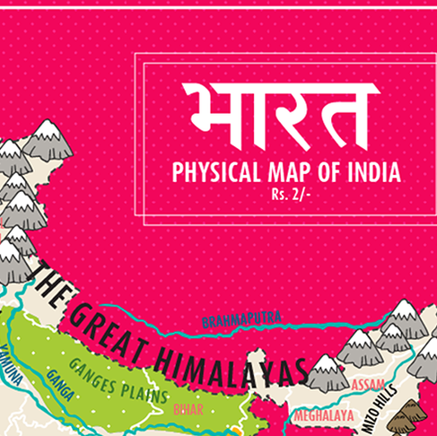Physical Features - Map Of India