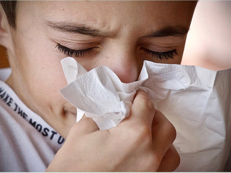Sneezing and Coughing?...here's how far germs can spread