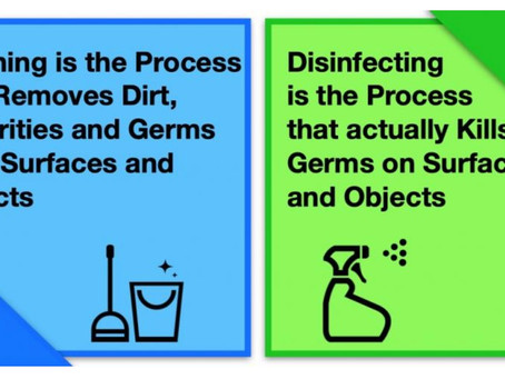 Let's look at what makes a Good Disinfectant