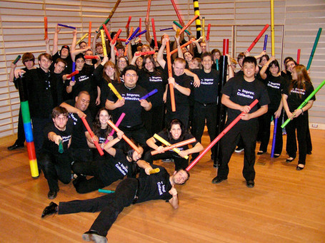 Collective with Boomwhackers